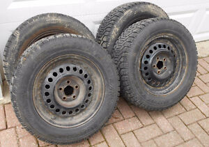 P215 60 15 Sunfire/Cavalier rims & 4 new tires