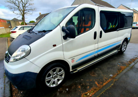 2012 Vauxhall Vivaro day van