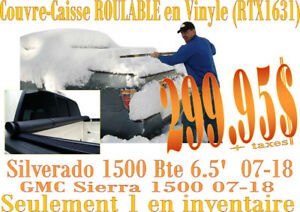 LIQUIDATION-Couvre-Caisse ROULABLE CHEV-GMC 1500 (14-18) rtx1631