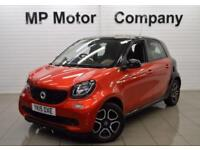 2015 15 SMART FORFOUR 1.0 PRIME PREMIUM 5D 71 BHP 5DR 5SP ECO S/S HATCH, RED,