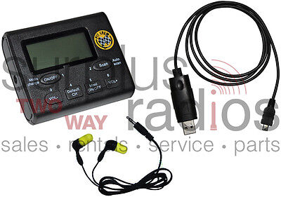 New Vhf Pit Crew Scanner Fm Radio Kit 2400 Frequencies 50ch Ham Racing