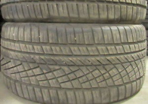Continental TIRES P295/40R21 INCH ~~~75-85%~~~2 of them Continen