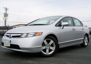 2007 Honda Civic LX - Certified + E-Tested + Winter Tires