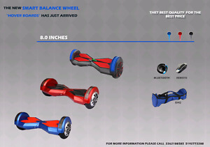 "8"" Two Wheel Self Balance Smart Scooter ""Hoverboard"""