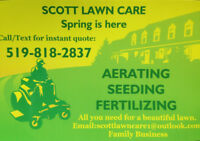 Fall Aerating-$40 most lawns, Dethatching, Seed/Fertilize