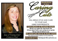Caring Cuts comes to your home/care facility