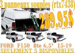 SPÉCIAL Couvre-Caisse 3 Panneaux F150 Bte 6.5'  15-19  (rtx7438)