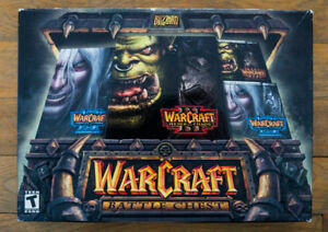 Warcraft 3 Battle Chest (Reign of Chaos, Frozen Throne)
