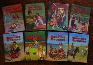 BEDTIME STORIES, Uncle Arthur's, 8 vol set, e.c.