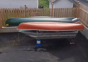 2 Canoes up for sale!
