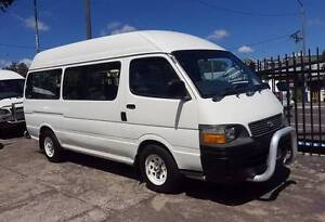 2000 Toyota Hiace Commuter van/ bus 12 seats 197,000 KM $9999 Highgate Hill Brisbane South West Preview