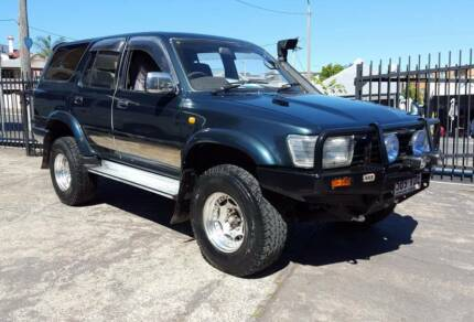1993 Toyota Hilux Surf SSR-G 3.0L turbo diesel 1YR WARRANTY $7499 Highgate Hill Brisbane South West Preview