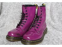 Purple Dr. Martens (Size 6)