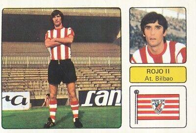 JOSE ANGEL ROJO # ATHLETIC BILBAO CROMO CARD CAMPEONATO DE LIGA 1973-74...