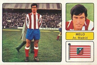FRANCISCO MELO # ATLETICO MADRID CROMO CARD CAMPEONATO DE LIGA 1973-74 FHER