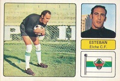 EMILIO ESTEBAN GONZALEZ # ELCHE.CF CROMO CARD CAMPEONATO DE LIGA 1973-74 FHER
