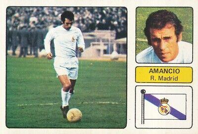 AMANCIO AMARO VARELA # REAL MADRID CROMO CARD CAMPEONATO DE LIGA 1973-74...