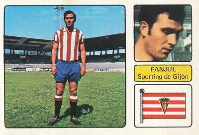 ALFONSO FANJUL # SPORTING GIJON CROMO CARD CAMPEONATO DE LIGA 1973-74 FHER