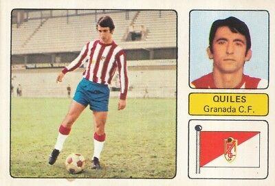 SALVADOR ESCRIHUELA QUILES GRANADA.CF CROMO CARD CAMPEONATO DE LIGA 1973-74 FHER