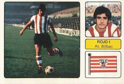 FRANCISCO ROJO # ATHLETIC BILBAO CROMO CARD CAMPEONATO DE LIGA 1973-74 FHER