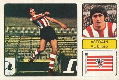 DANIEL ASTRAIN # ATHLETIC BILBAO CROMO CARD CAMPEONATO DE LIGA 1973-74 FHER