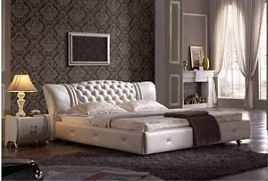 Modern Fully Leather Bed Styles Premium quality King and Queen Adelaide CBD Adelaide City Preview