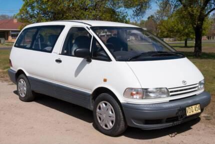 Toyota Tarago - 7 months rego