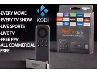 Unlocked Amazon Firestick KODI/MOBDRO/ANDROID 1000s films/shows/sports FREE!! NO SUBSCRIPTION!!