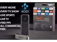Unlocked Amazon Firestick KODI/MOBDRO/ANDROID 1000s films/shows/sports FREE!! NO SUBSCRIPTION!!