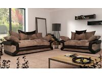 Sheldon sofas with free footstool