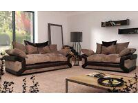***New sheldon sofas with free pouffe***