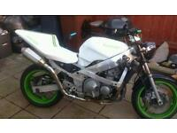REDUCED Kawasaki zzr600 10 months mot