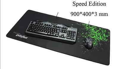 Very Large Razer Goliathus Gaming Mouse Pad Mat Speed Edition Size 900*400*3mm