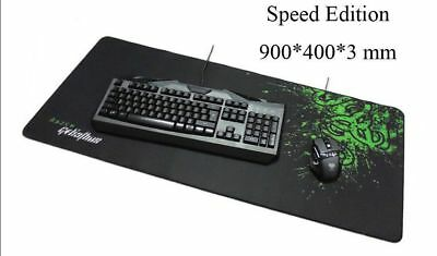 New Very Large Razer Goliathus Gaming Mouse Pad Mat Speed Edition 900 400 3Mm