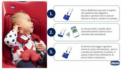 Chicco dispositivo anti abbandono auto bebè care easy-tech - Farmacia Succi