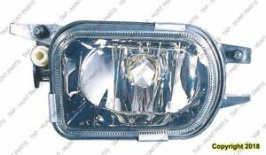 Fog Lamp Driver Side Without Sport Package Clk Models High Quality Mercedes C-Class 2006-2009