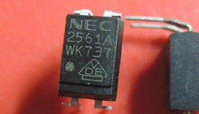 50 PCS NEC2561A  PS2561A-1 2561A NEC DIP-4 PHOTOCOUPLER Brand New