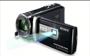 SONY HANDYCAM Built In Projector HDR-PJ 200E Shailer Park Logan Area Preview