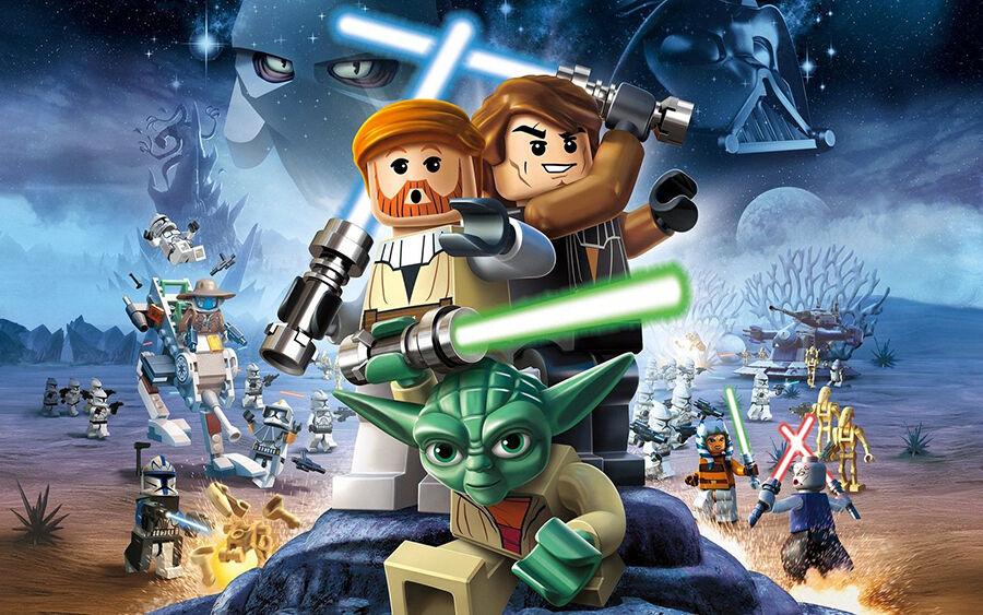Sternenkrieg in Serie auf Lego Star Wars DVDs