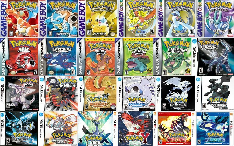 Nintendo Ds Pokemon Games : Looking to buy all pokemon games or game boxes