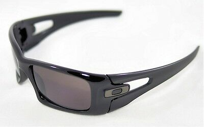NEW Oakley - Crankcase - Sunglasses, Polished Black / Warm Grey, OO9165-01