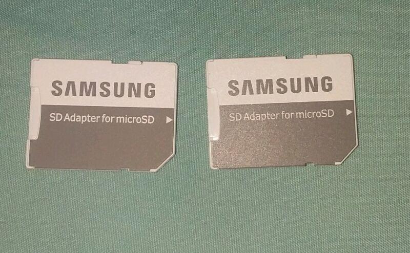 Samsung Micro SD Adapter lot of 2 set
