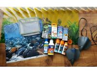 Fish tank accessories and treatments