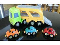 ELC car transporter with cars