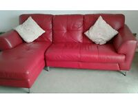 Great condition leather sofa