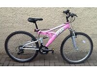 "Bike/Bicycle.LADIES TRAX "" TFS1 "" MOUNTAIN BIKE"