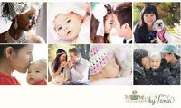 *$175 for two(2) hour family mini + newborn/baby photography*