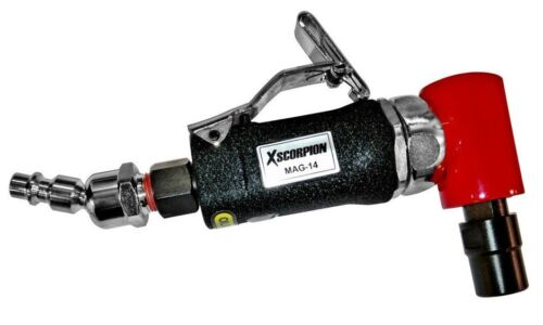 """Mini AIR ANGLE DIE GRINDER Pneumatic Cut Off Polisher Cleaning Cutting 1/4"""" Tool"""