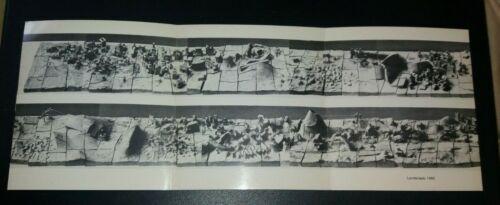 HARVEY WEISS Recent Sculpture trifold Silvermine gallery invitation 1983 vintage