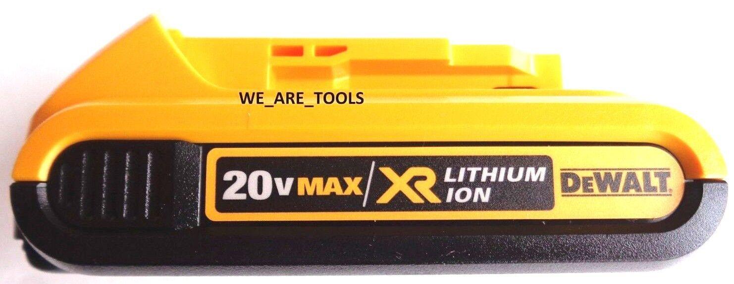 New GENUINE Dewalt 20V DCB203 2.0 AH MAX XR Battery 20 Volt